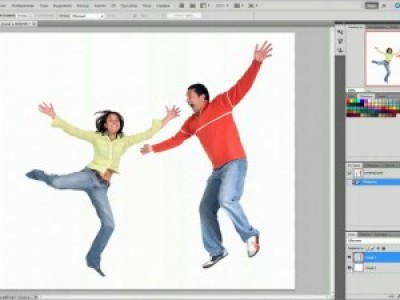Уроки Photoshop CS5: Марионеточная деформация