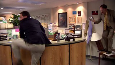 Parkour PARKOUR // The Office US