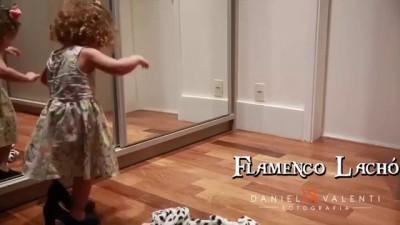 Niña bailando Flamenco 2016 - Con tacones grandes - FLAMENCO LACHÓ