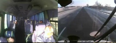 Украина .ДТП с участием гужевой повозки .