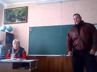 17 летний Михаил Федоров на уроке