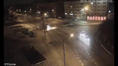 Комсомольск-на-Амуре, первый снег 23.10.2014-24.10.2014, Ускоренное видео!