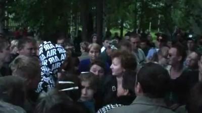 Демьяново митинг после конфликта с дагестанцами(2/2)