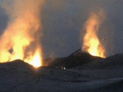 НЛО над вулканом. Исландия 2