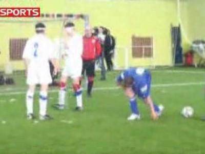 Футбол среди слепых