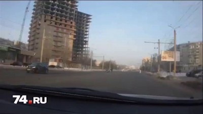 В Челябинске сбита женщина
