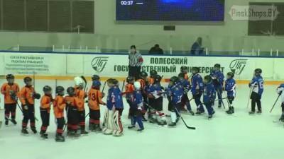 Массовая драка. Детский турнир по хоккею в Пинске.