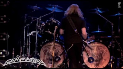 """GAMMA RAY """"Gamma Ray"""" Live from """"Live Skeletons & Majesties"""" Official DVD /"""