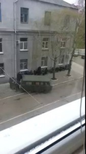 Славянск (Донецкая область) захват отдела милиции!!! 12 апреля 2014