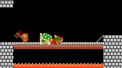Марио приходит в ярость