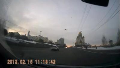 Метеорит над Екатеринбургом