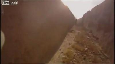 Подрыв на мине: Вид от первого лица