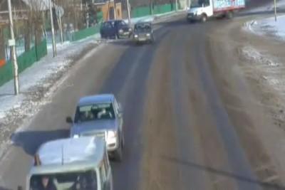 Авария на камеру наблюдения в г.Терентьевск