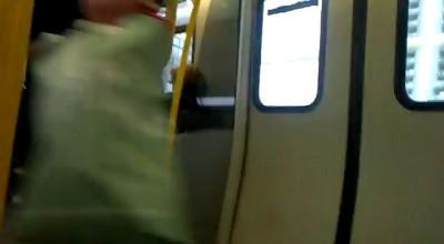 танец в метро