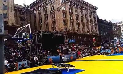 Баскетбольные акробаты