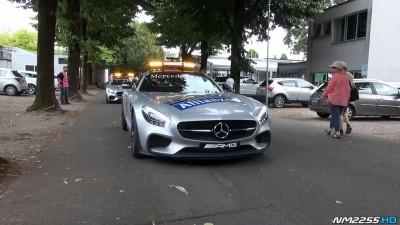 2015 Mercedes AMG GT S F1 Safety Car