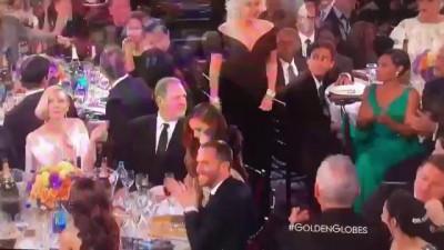 Leonardo DiCaprio vs Lady Gaga on Golden Globe 2016