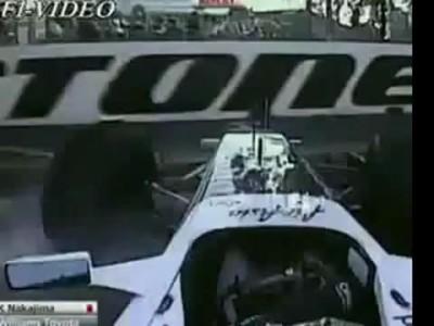 Все аварии Formula 1 season 2009