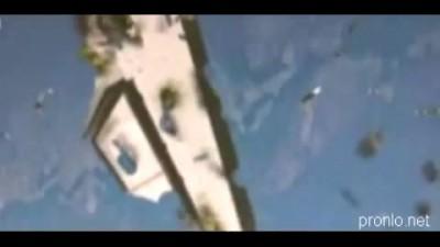Обломки Шаттла на орбите