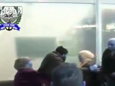 Драматическая сцена в аэропорту Триполи