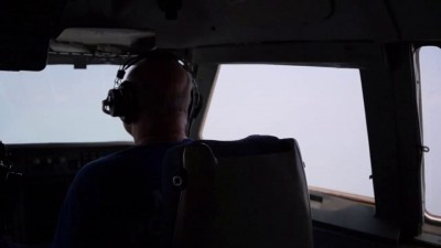 Бе-200 тушит пожары в Амурской области