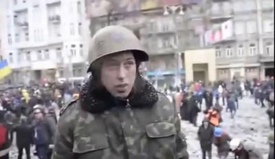 """Обдолбаный агрессор с """"евромайдана"""""""