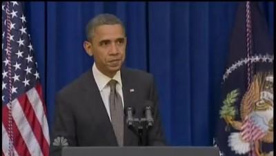 Barack Obama Kicks Door Open