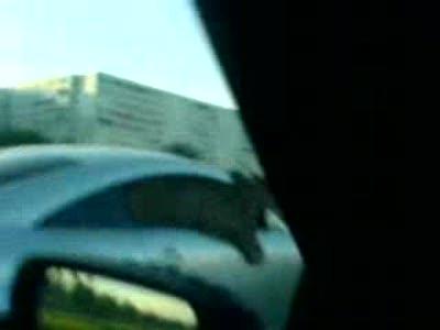 Audi TT и киска за рулем