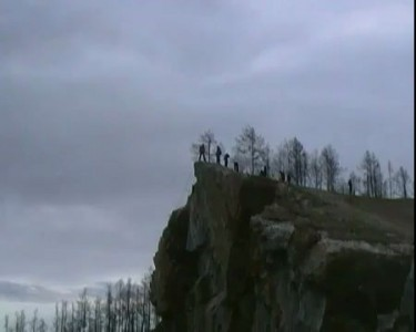 Прыжок с высоты 120 метров