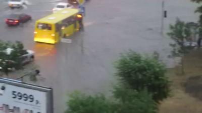 Потоп в Тюмени. 12.07.2013