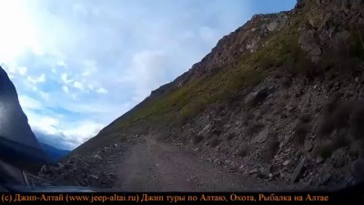 Подъем на перевал Кату-Ярык май 2014