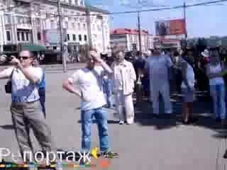 24.08.14 Антифашистский митинг в Донецке