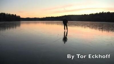 On thin ice 5 (Норвежский экстремал на льду)