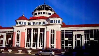 Железнодорожный вокзал города Саранска