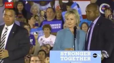 Protesters Interrupt Hillary Clinton In Las Vegas