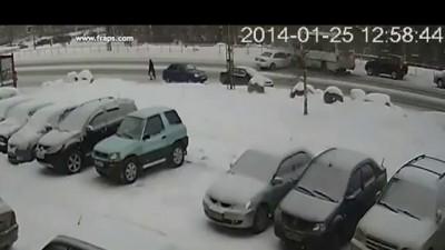 Спас пешехода ценой здоровья и машины. Петрозаводск