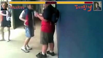 Школьный Mortal Kombat