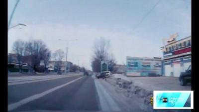 ДТП с ГАИ. Казахстан.