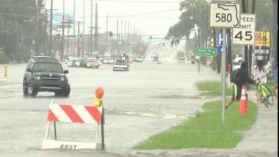 Во Флориде чуток дождливо