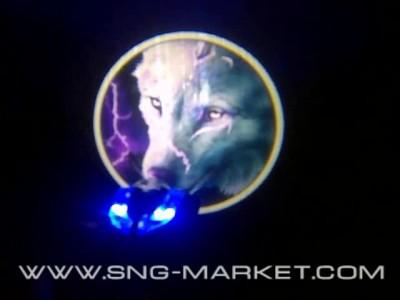 Светодиодная подсветка логотипа дверей автомобиля