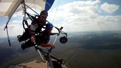 На высоте 2000 футов