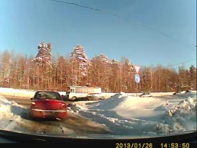 ДТП Калуга-2 26.01.13
