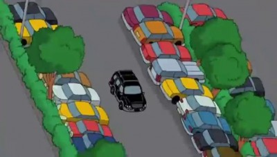 American Dad Parking Scene