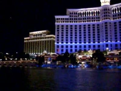 Фонтаны Las Vegas