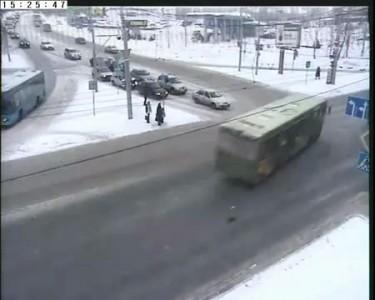 ДТП в Перми 31.01.2011