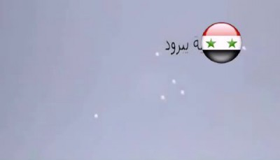 Syria. Damascus. Yabrood. Surgical strike on the accumulations of terrorist groups 17/05/2014