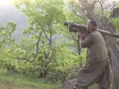 Курды сбили турецкий военный вертолет