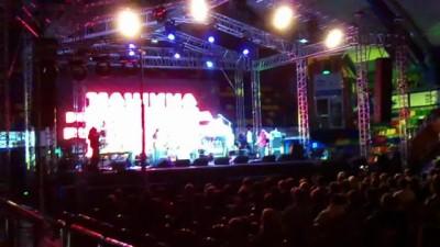 Освистанные единоросы на концерте Машины Времени