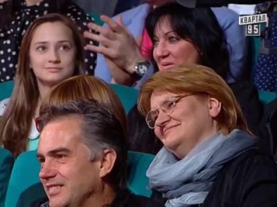 Молодая семья, Владимир Путин и Алина Кабаева, Вечерний Квартал от 17 мая 2014г.