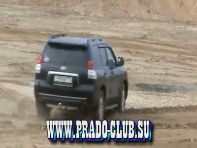 Как Toyota Prado утонул в русской луже...
